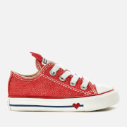 Converse Toddlers' Chuck Taylor All Star Ox Trainers - Sedona Red/Enamel Red/Blue