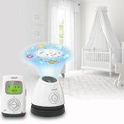 Vtech Safe & Sound Audio Monitor with LCD & Light Show - BM2200