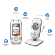 """Vtech Safe & Sound 2"""" Video Baby Monitor - VM312"""
