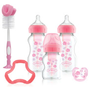 Dr Browns Options + Gift Set - Pink