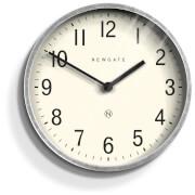 Newgate Master Edwards Wall Clock - Galvanised Steel