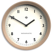 Newgate The General Wall Clock - Light Oak