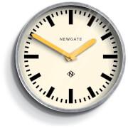 Newgate Luggage Wall Clock - Yellow Hands