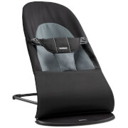 BABYBJÖRN Balance Soft Bouncer - Black and Dark Grey