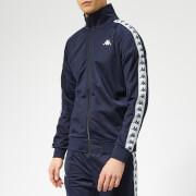 Kappa Men's Banda Anniston Track Jacket - Blue Marine/White/Black