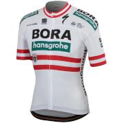 Sportful Bora-Hansgrohe BodyFit Team Jersey - Austrian National Champion Edition