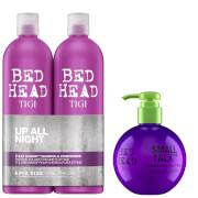 TIGI Bed Head Massive Volume Shampoo, Conditioner and Styling Cream Set