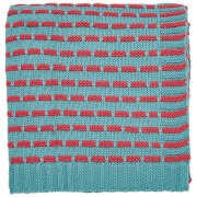 Helena Springfield Knitted Throw - Duck Egg