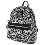 Loungefly Disney The Nightmare Before Christmas Sugar Skull AOP Mini Backpack