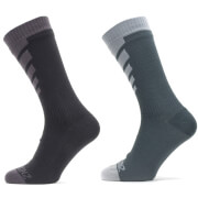 Sealskinz Warm Weather MTB Mid Length Socks