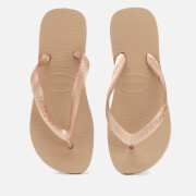 Havaianas Women's Top Tiras Flip Flops - Rose Gold