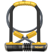 OnGuard Bulldog Standard Shackle U-Lock/Cable Combo - 115mm x 230mm x 13mm