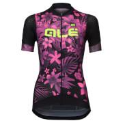 Alé Women's PRR Sartana Jersey - Fluo Pink/Fluo Yellow