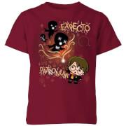 Harry Potter Kids Expecto Patronum Kids' T-Shirt - Burgundy