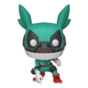 My Hero Academia - Deku con Casco Figura Pop! Vinyl
