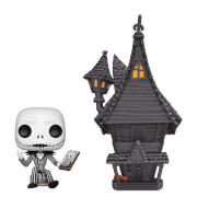 Disney Nightmare Before Christmas - Casa di Jack Skeletron Figura Pop! Town