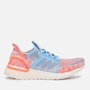 adidas Women's Ultraboost 19 Trainers - Blue/Orange