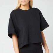adidas Women's Wanderlust Graphic Short Sleeve T-Shirt - Black
