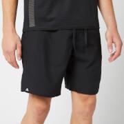 adidas Men's 3 Stripe Swim Shorts - Black