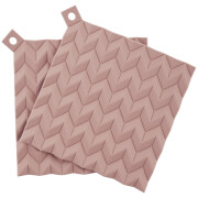 RIG-TIG Hold-On Pot Holders Set of 2 - Misty Rose