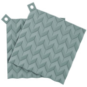 RIG-TIG Hold-On Pot Holders Set of 2 - Dusty Green