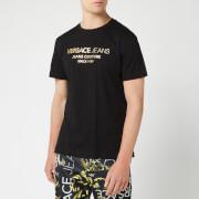 Versace Jeans Men's Logo T-Shirt - Nero
