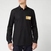Versace Jeans Men's Long Sleeve Shirt - Nero