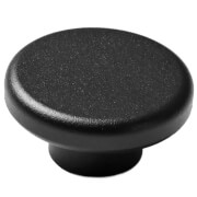 Menu Knobs - Black - 2 Pack