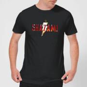 Shazam Logo Men's T-Shirt - Black