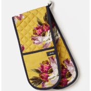 Joules All Over Floral Double Oven Glove
