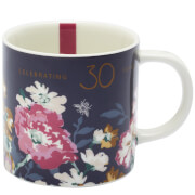 Joules Anniversary Floral Mug