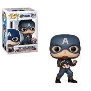 Figura Funko Pop! - Capitán America Exclusivo - Marvel Vengadores: Endgame