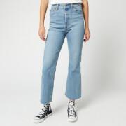 Levi's Women's Ribcage Crop Flare Jeans - Scapegoat