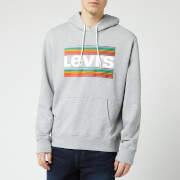 Levi's Men's Graphic Pop Over Hoodie - Midtone Heather Grey