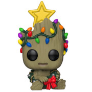 Marvel Holiday - Groot Natalizio Figura Pop! Vinyl