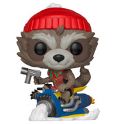 Figurine Pop! Rocket Raccoon - Marvel Noël