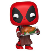 Marvel Holiday - Deadpool Natalizio Figura Pop! Vinyl
