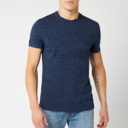 Superdry Men's Vintage Logo Embossed T-Shirt - Montana Blue Grit