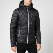 Superdry Men's Diagonal Quilt Fuji Jacket - Black