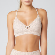 Varley Women's Lindley Bra - Rose Feathers