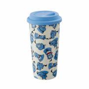 Funko Homeware Disney Aladdin Genie Pattern Lidded Mug