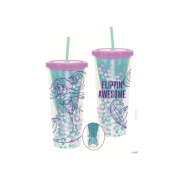 Funko Homeware Disney The Little Mermaid Flippin' Awesome Cup with Straw