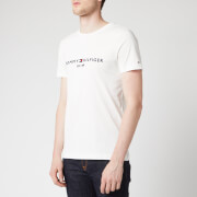 Tommy Hilfiger Men's Tommy Logo T-Shirt - Snow White