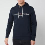 Tommy Hilfiger Men's Tommy Logo Hoodie - Sky Captain