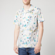 Tommy Jeans Men's Printed Short Sleeve Shirt - Surf Print