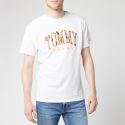Tommy Jeans Men's Tommy Logo T-Shirt - Classic White