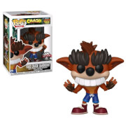 Crash Bandicoot Fake Crash Bandicoot EXC Funko Pop! Vinyl