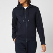 Armani Exchange Women's Zip Up Hoodie - Navy