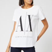 Armani Exchange Women's Logo T-Shirt - White