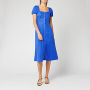 Whistles Women's Remi Linen Dress - Blue